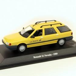 Renault 21 Nevada 1989 - La Poste - 1/43 En boite