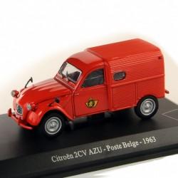 Citroen 2cv AZU 1963 - Poste Belge - 1/43 En boite