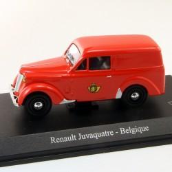 Renault Juvaquatre - Belgique La Poste - 1/43 En boite
