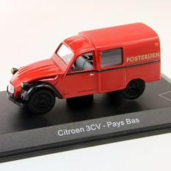Citroen 3cv - Pays Bas la Poste - 1/43 En boite