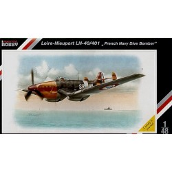 "Special Hobby - Loire-Nieuport LN-40/401 "" French Navy Dive Bomber "" - 1/48"