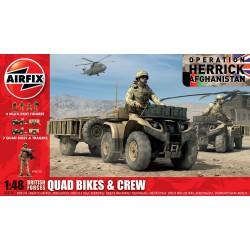 Airfix - Quad Bikes et Crew - 1/48