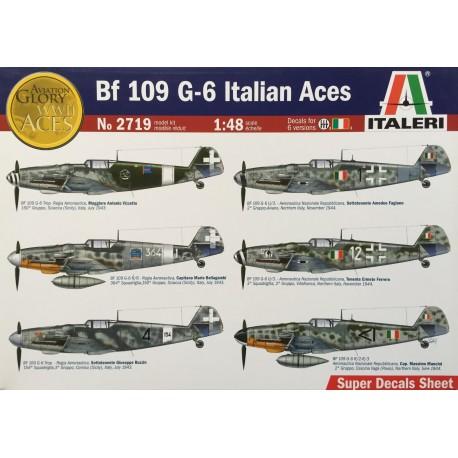 Italeri - Bf 109 G-6 Italian Aces - 1/48
