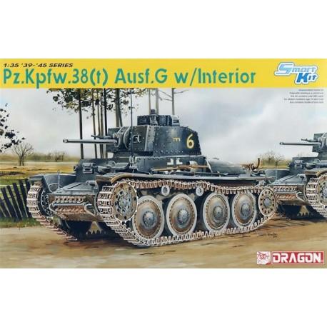 Dragon - Pzpfw.38 (t) Ausf.G w/Interior - 1/35