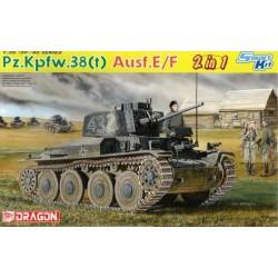 Dragon - Pz.Kpfw.38 (t) Ausf.E/F - 1/35