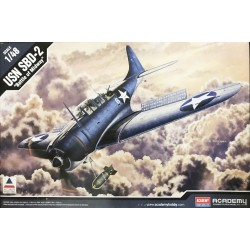 "Academy - USN SBD-2 "" Battle of Midway ""- 1/48"