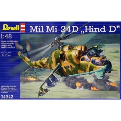 "Revell - Mil Mi-24D "" Hind-D "" - 1/48"