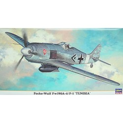 "Hasegawa - Focke-Wulf Fw190A-4/F-1 "" Tunisia "" - 1/48"