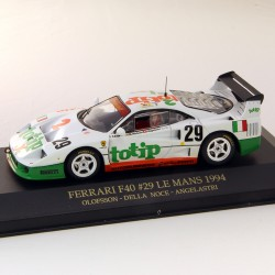 Ferrari F40 Le Mans 1994 Olofsson - Della Noce - Angelastri  - 1/43ème Ixo