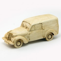 Renault Juvaquatre Fourgonnette en Résine - 1/43