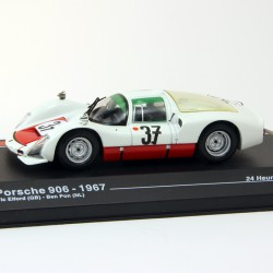 Porsche 906 1967 - 24 heures du Mans - 1/43ème en boite
