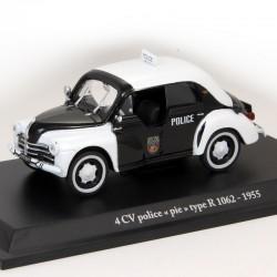"""Renault 4cv Police """" Pie """" Type R 1062 - 1/43 ème"""