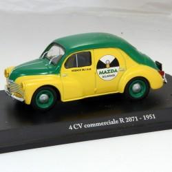 Renault 4cv Commerciale R 2071 - 1/43 ème