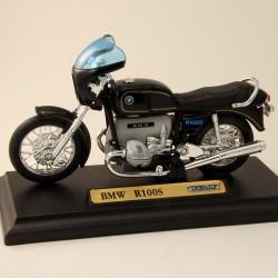Moto BMW R100S - Welly - 1/18 ème En boite