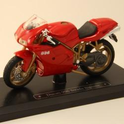 Moto Ducati 996 Strada Biposto - Majorette - 1/18 ème En boite