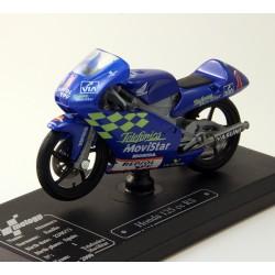 Moto Honda 125 cc RS - Majorette - 1/18 ème En boite