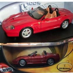 Ferrari F550 Barchetta Hot Wheels - 1/18ème