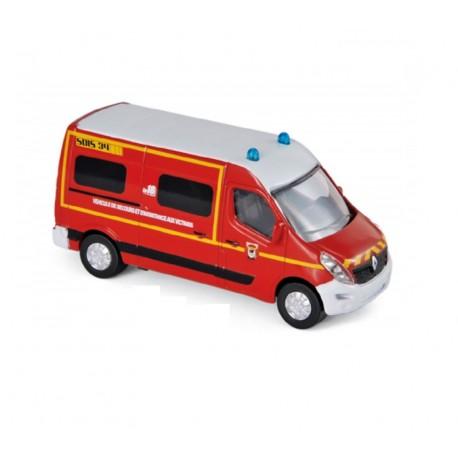 Renault Master Pompier - Norev - En boite
