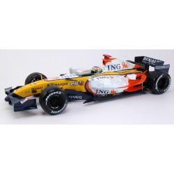 Renault F1 Team R27 Giancarlo Fisichella - Hot Wheels - 1/18ème