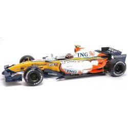 Renault F1 Team R27 Heikki Kovalainen - Hot Wheels - 1/18ème