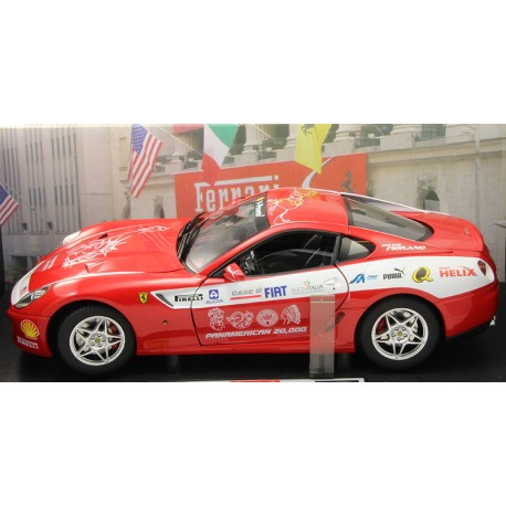 Ferrari 599 GTB Fiorano Panamerican Hot Wheels Elite - 1/18ème