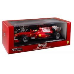 Ferrari F10 Bahrain GP Edition - F.Massa - Hot Wheels - 1/18 ème En boite