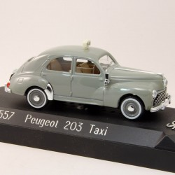 Peugeot 203 Taxi - Solido - 1/43ème en boite