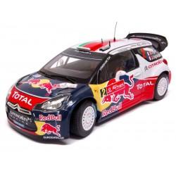 Citroen DS3 WRC S.Ogier & J.Ingrassia  1/18ème Norev