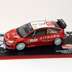 Citroen C4 WRC - Rallye Monte-Carlo 2007 - 1/43 ème En boite