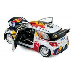 Citroen DS3 WRC T.Neuville & N.Gilsoul - 1/18ème Norev