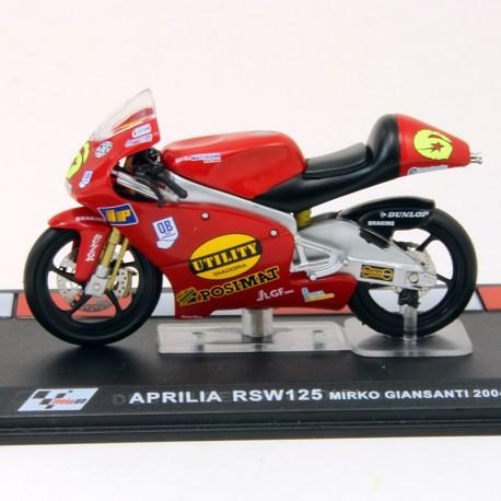 Moto Aprilia RSW125 - 1/24 ème En boite