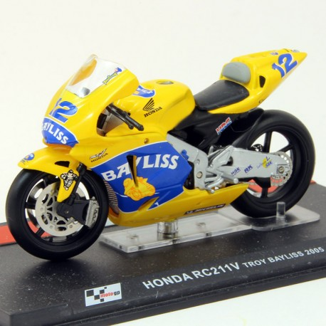 Honda RC211V - Troy Bayliss 2005 - 1/24ème en boite