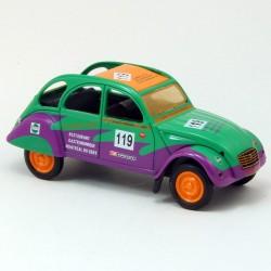 Citroen 2CV Stop Car - Eligor - 1/43ème sous blister