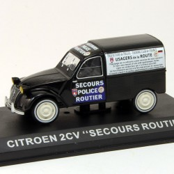 """Citroen 2CV Fourgonnette """"Secours Routier"""" - 1/43ème en boite"""