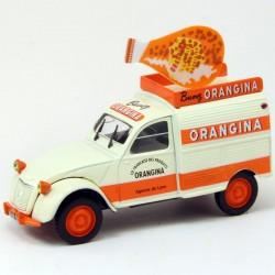 """Citroen 2CV Fourgonnette """"Orangina"""" - 1/43 sous blister"""