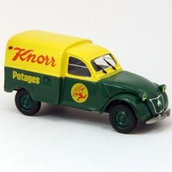 """Citroen 2CV Fourgonnette """"Knorr"""" - Norev - 1/43ème sous blister"""