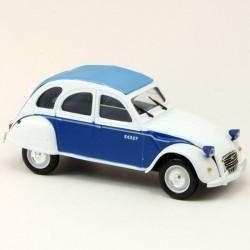 Citroen 2CV - Dolly - Bleu et Blanc - 1/43ème sous blister