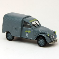 "Citroen 2CV Fourgonnette ""Michelin"" - Norev - 1/43ème sous blister"