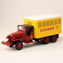 """GMC CCKW 353 Fourgon Atelier """"Cirque Pinder"""" - 1/43ème en boite"""