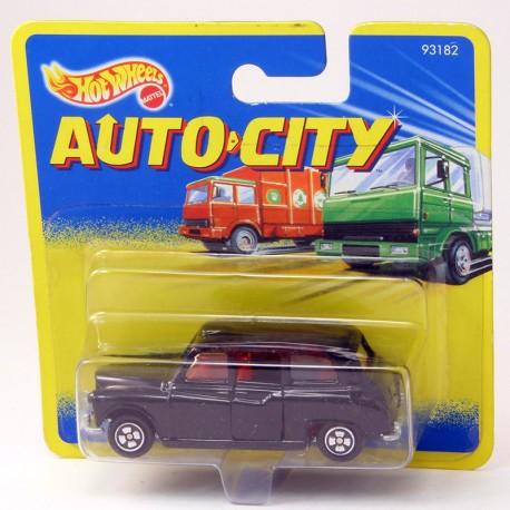 London Taxi Noir - Hot Wheels/Corgi - 1/60ème sous blister