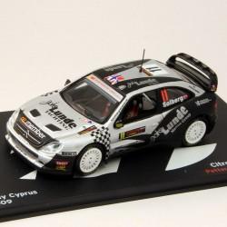 Citroen Xsara WRC - Rally Cyprus - 1/43 ème En boite