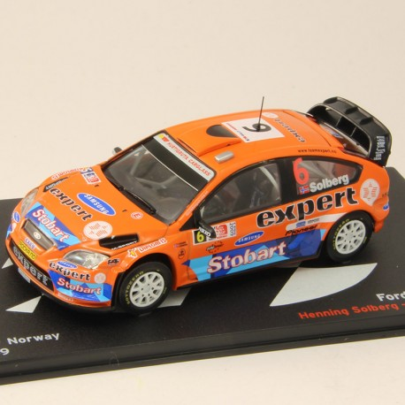 Ford Focus WRC - Rally Norway 2009 - 1/43 ème En boite