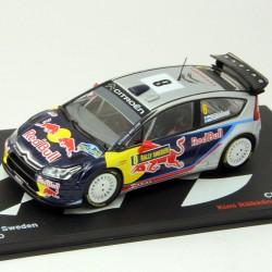 Citroen C4 WRC - Rally Sweden 2010 - 1/43 ème En boite