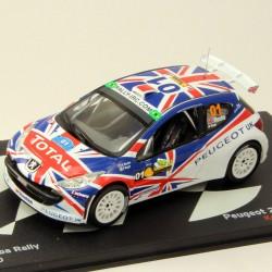 Peugeot 207 S2000 Zero - Curitiba Rally - 1/43ème En boite