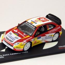 Citroen Xsara WRC - Rally Catalunya Costa - 1/43ème En boite