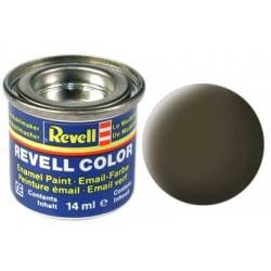 Revell - Pot Peinture 40 - Noir - Vert - Mat