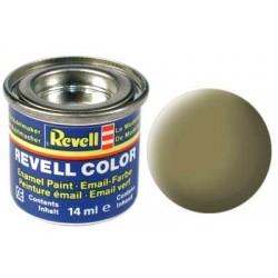 Revell - Pot Peinture 42 - Jaune - Olive - Mat