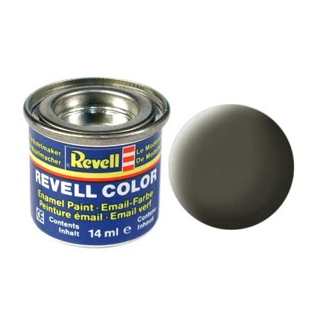Revell - Pot Peinture 46 - Vert - OTAN - Mat