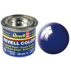 Revell - Pot Peinture 51 - Bleu - Mediterrannée - Brillant