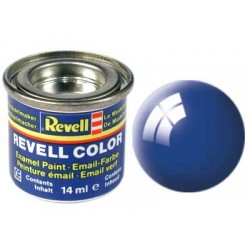 Revell - Pot Peinture 52 - Bleu - France - Brillant